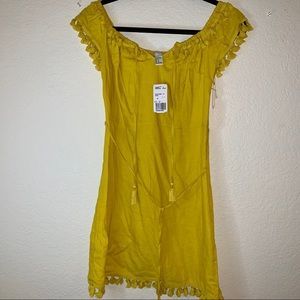 Forever 21 Yellow Summer Dress